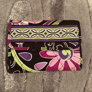 Vera Bradley Wallet Purple Punch